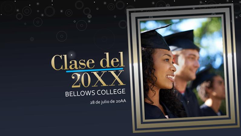 Celebración de vida: graduación