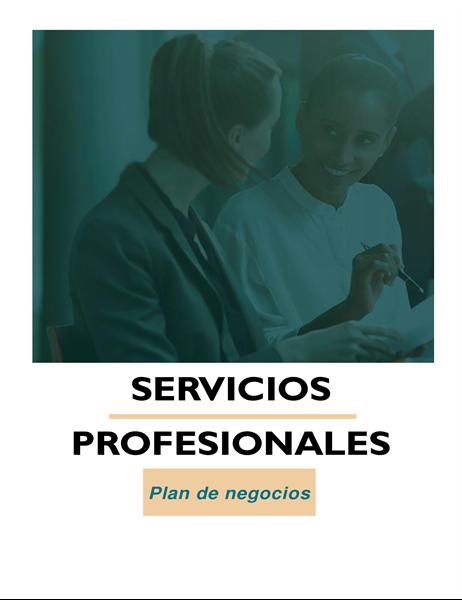 Plan de negocios de servicios profesionales