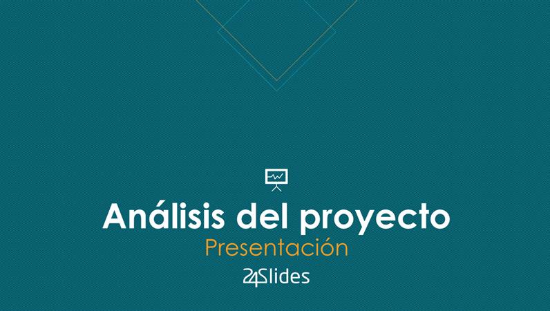 Análisis de proyecto, de 24Slides