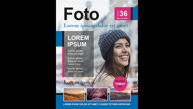 Portadas de revistas de fotografía
