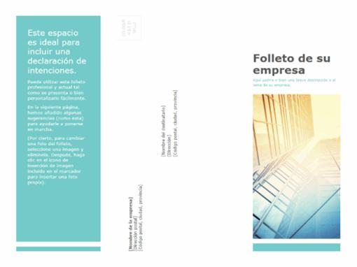 Folleto (empresarial)