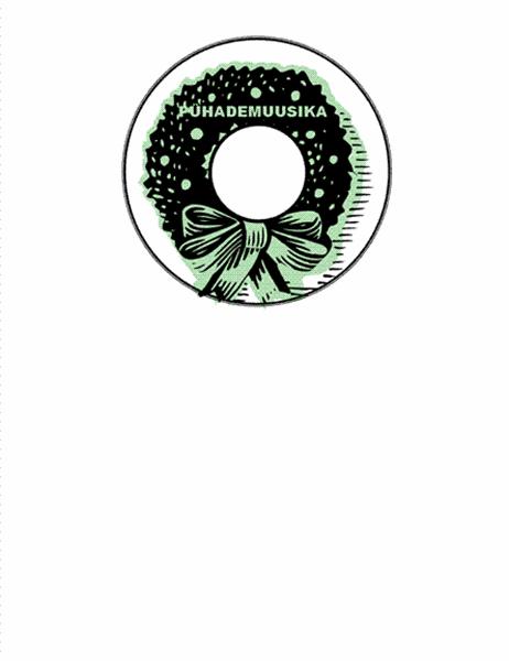 Pühademuusika CD-de kaanesildid (Avery 5824)