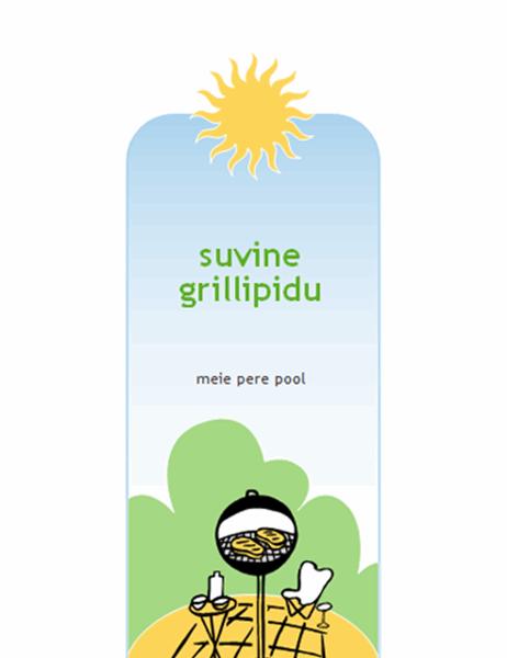 Grillipeo kutse
