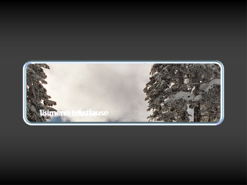 Animeeritud foto panoraamimine aknas ja aeglaselt nähtavale ilmuvad pealdised