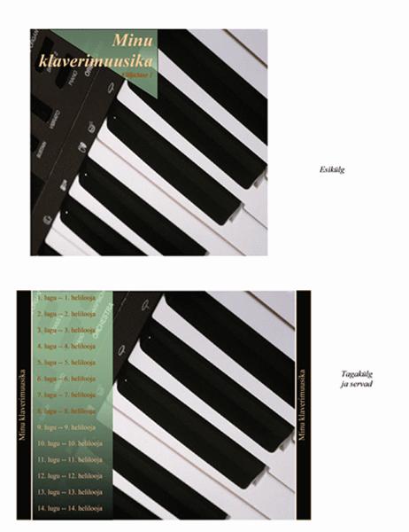 CD-karpide vahelehed (klaverimuusika kujundus)