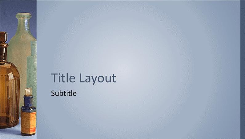 Apteegikujundusega slaidid