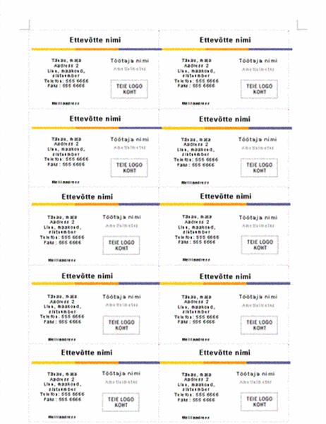 Visiitkaart (taseme kujundus)