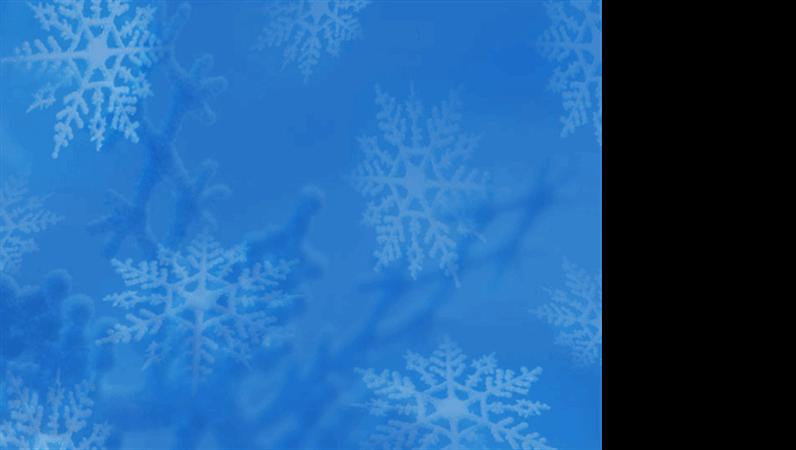 Lumehelveste kujundusega mall