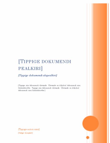 Aruanne (ärkliteemaline kujundus)