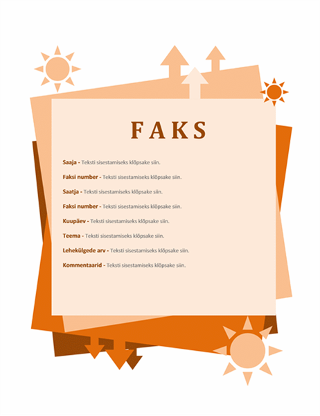 Faksi esileht
