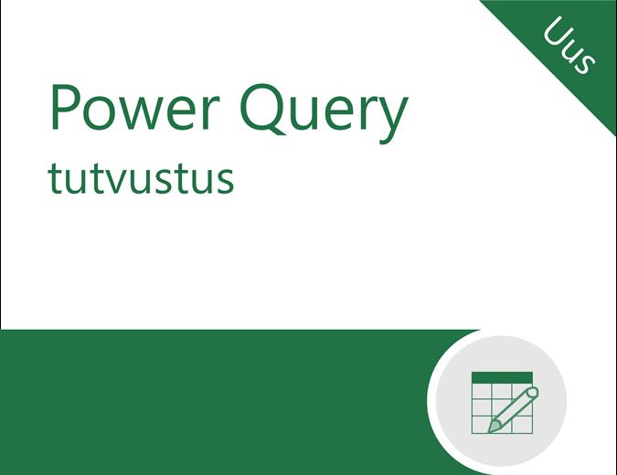 Power Query õpik