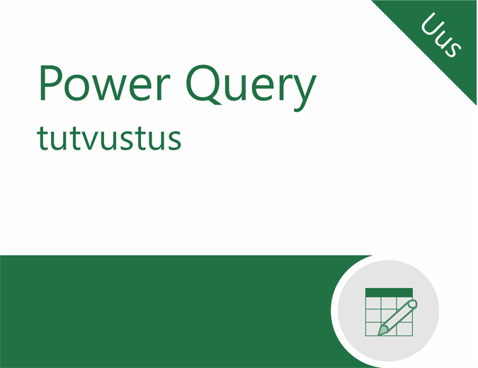 Power Query õpik