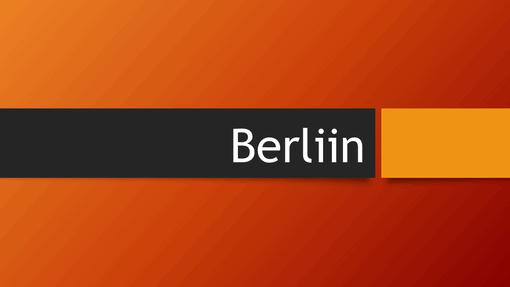 Berliini oranž