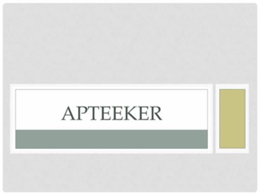 Apteeker
