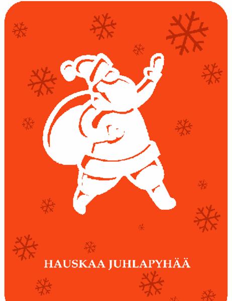 Joulukortti (joulupukki)