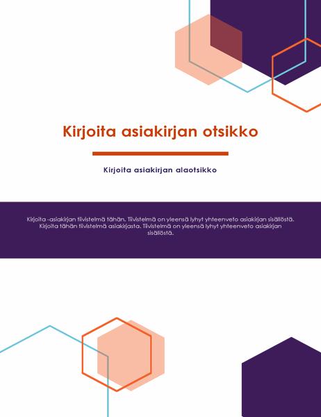 Raportti (johtaja-aiheinen rakenne)