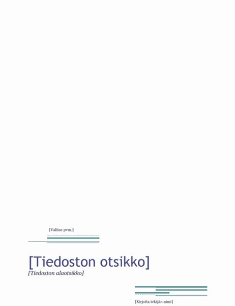 Raportti (Urbaani-teema)