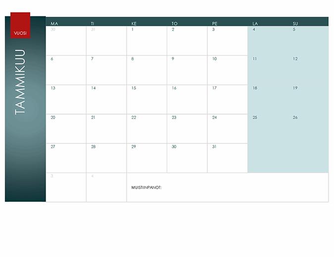 Vuosikalenteri (ioniteema)