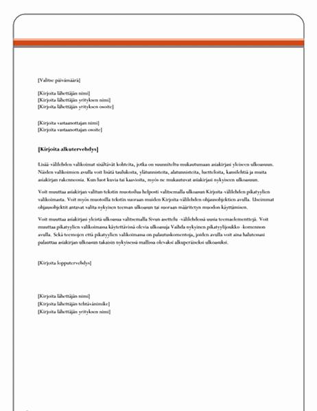Kirje (Equity)
