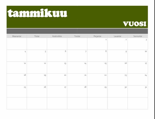 Palkkikalenteri