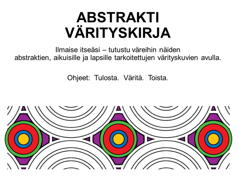 Abstrakti värityskirja