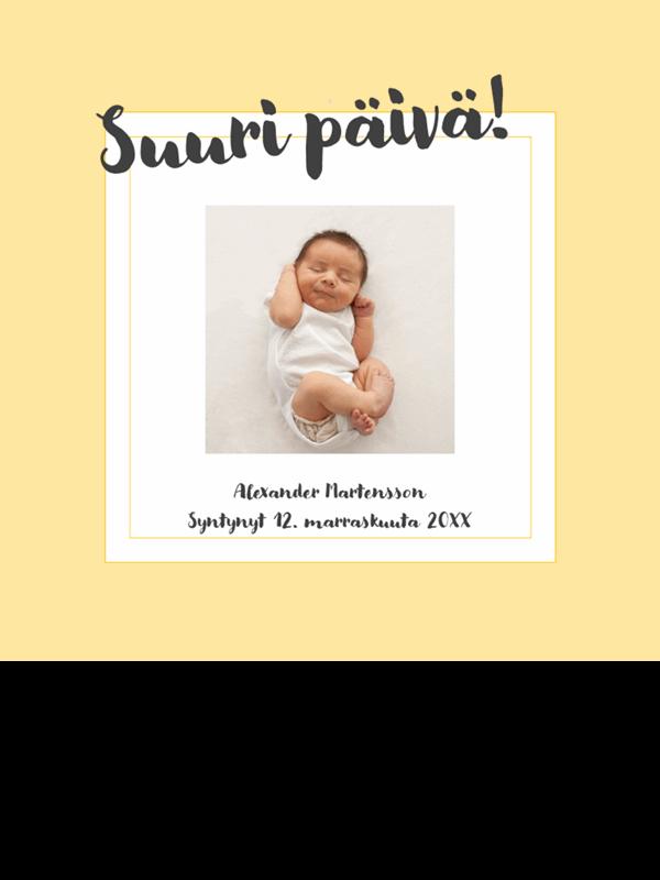 Vauvan virstanpylväiden valokuva-albumi