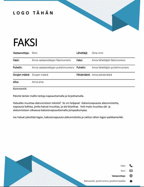 Faksin kansilehti (liituraidat)