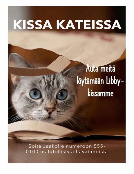 Kissa kateissa -lehtinen