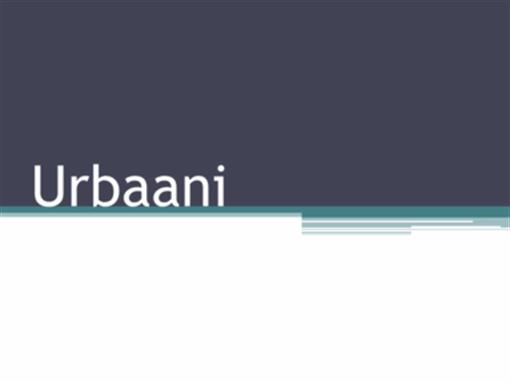 Urbaani