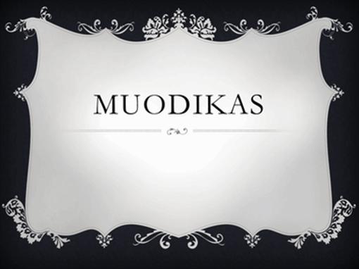 Muodikas