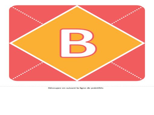 Bannière de bienvenue bébé fille (rose, jaune, vert)