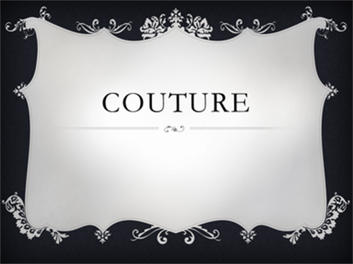Couture