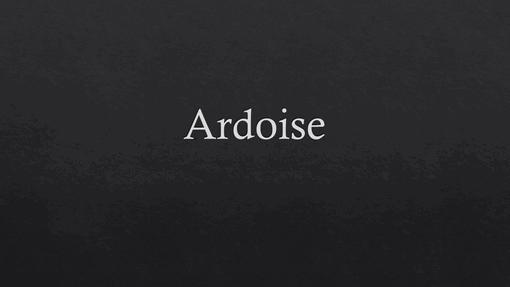 Ardoise