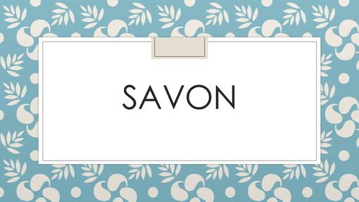 Savon