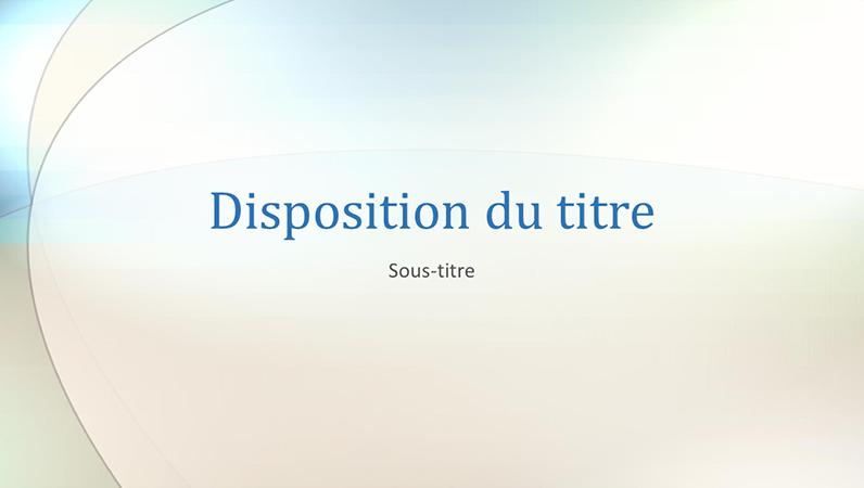 Diapositives de conception Cloud skipper
