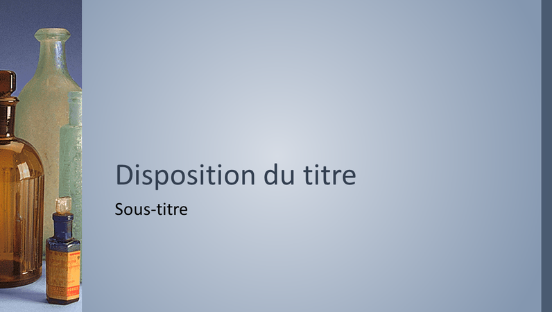 Diapositives de conception Pharmacie