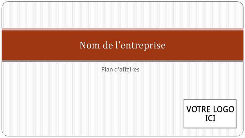 Présentation de plan d'affaires