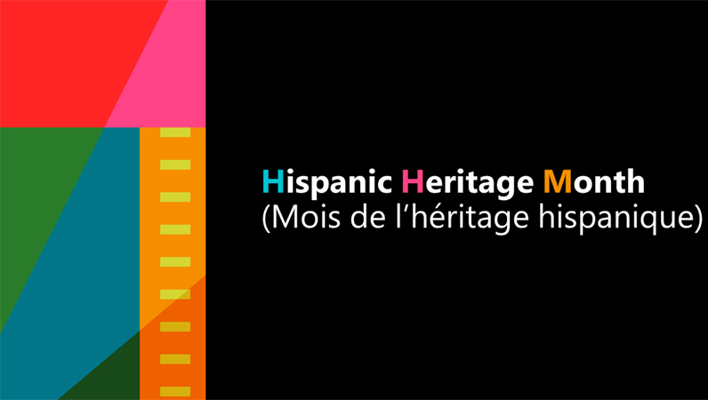 Présentation du Mois de l'héritage hispanique