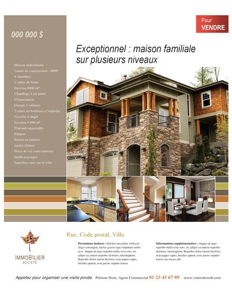 Prospectus immobilier