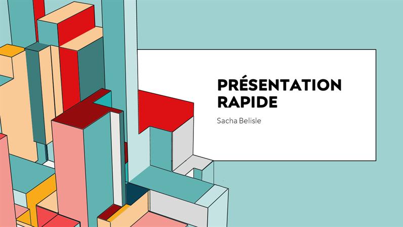 Présentation rapide Architecture