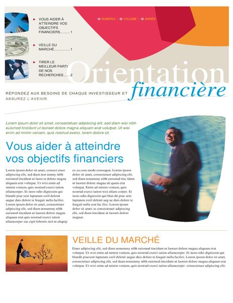 Bulletin d'informations financières (2 pages)