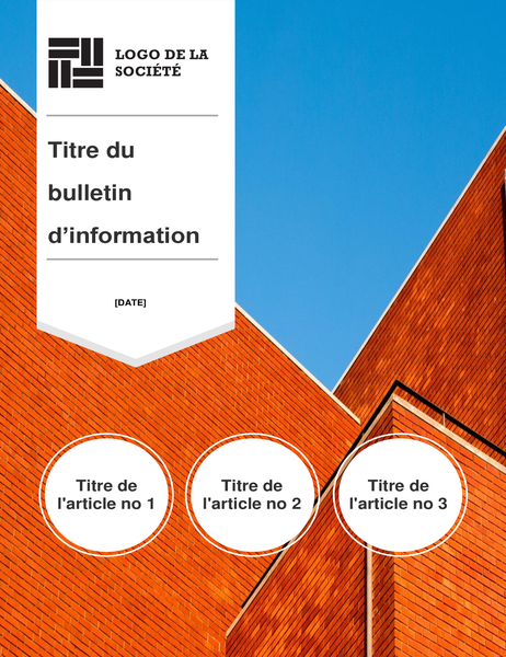 Bulletin d'information de constructeur