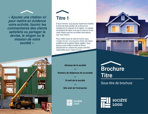 Brochure constructeur