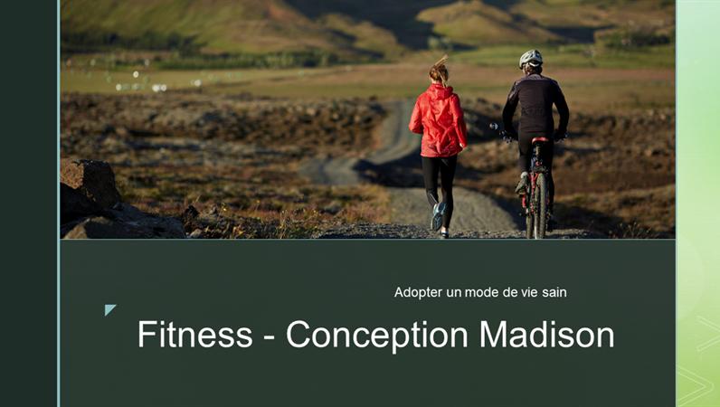 Conditionnement physique - Conception Madison