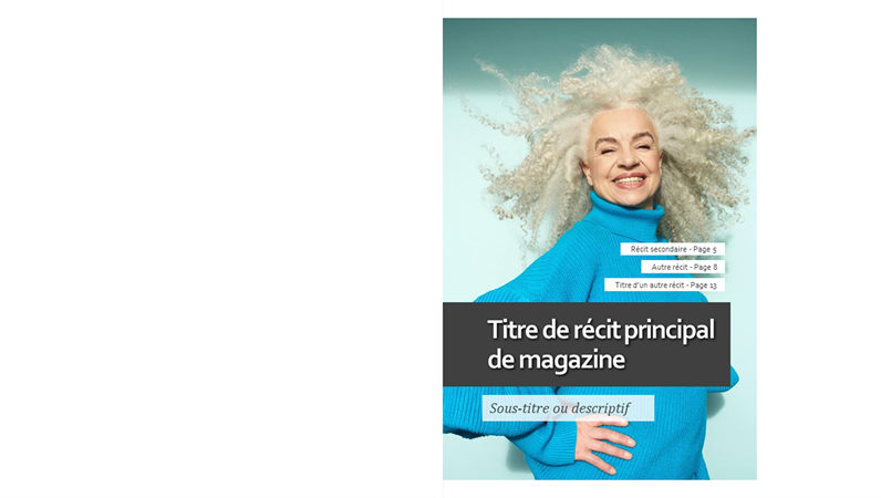 Disposition de magazine mode de vie