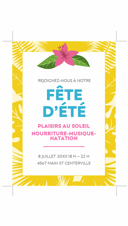 Invitations d'été