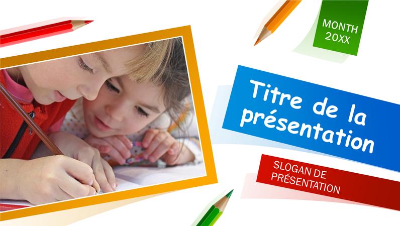 Présentation pour école primaire