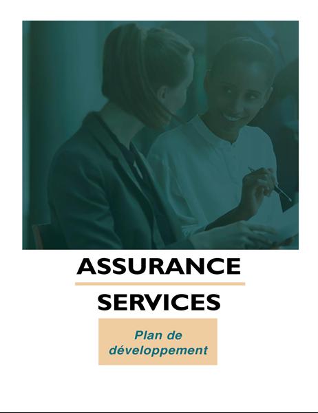 Plan d'affaires d'entreprise de services professionnels