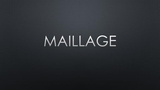 Maillage