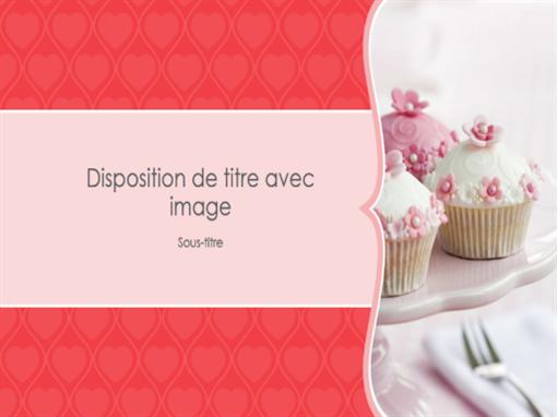 Album de photos «Cœurs roses» (grand écran)